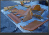 1974 Porsche 911 RS RSR IROC Engine Fiberglass Covers, OEM, In Need of Some Attention - Photo 1