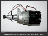 1973 / 74 Porsche 911 RS RSR IROC Marelli Twin-Plug Distributor Late 30mm Neck, OEM - Photo 1