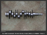 1973 / 74 Porsche 911 RS RSR IROC Racing Crankshaft 70.4mm sn F98864 OEM - Photo 1