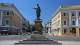 Odessa: Duke at the Potamkin steps