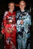 Crimea, Yalta: Japanese restaurant receptionists
