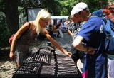 Crimea, Yalta: street market