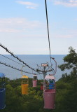 Odessa: cable cart to beach