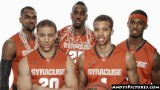 Syracuse Orange starting five