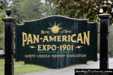 1901 Pan-American Exposition sign