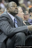 Charlotte Bobcats assistant coach Patrick Ewing