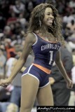 Charlotte Bobcats cheerleader