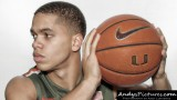 Miami Hurricanes guard Manu Lecomte