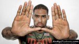 Miami Hurricanes forward Donnavan Kirk