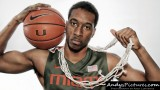 Miami Hurricanes guard Garrius Adams