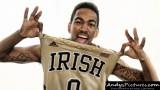 Notre Dame Fighting Irish guard Eric Atkins