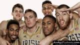 Notre Dame Fighting Irish team photo