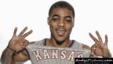 Kansas Jayhawks guard Frank Mason