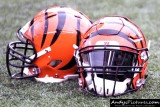 Cincinnati Bengals football helmets