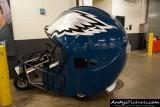 Philadelphia Eagles helmet golf cart
