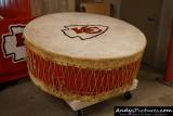 Kansas City Chiefs war drum