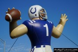 Indianapolis Colts inflatable QB