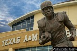 John David Crow statue at Kyle Field - College Station, TX