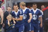 Wesley Sneijder, Dirk Kuyt and Giovanni van Bronckhorst