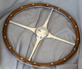 Morgan M3W English walnut steering wheel