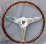 Maserati A6G Mahogany Steering Wheel