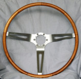 Corvette Teak Wood Steering Wheel