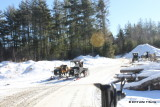 Model T Snowmobile out in the Farm
