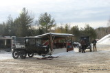 Thornton NH Model T Ford Snowmobile Meet January 17 2015