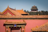 View of Temple, Forbidden City
