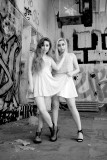 Chelsea and Tiana's 1st shoot together in infrared