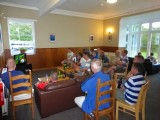 Others enjoying the World Cup at the YHA