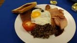 Scottish Brekkie - incl Haggis and Scottish Sausage meat