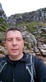Ben Nevis Descent - selfie!