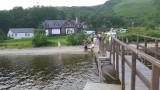 YHA Private Jetty onto Loch Lomod