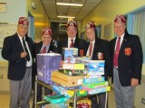 Christmas Toy Drive to Shriners Hospital in Montreal