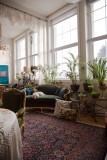 007 - olive velvet chair, forest velvet sofa are staying