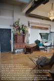 014 - front door...inside (left) wall of Studio (view from kitchen)