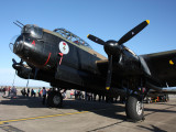 Lancaster Bomber at Durham Tees Valley Airport