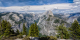 Yosemite - Glacier Point  panoramic view