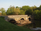 Conococheague Aqueduct in the early morning sun