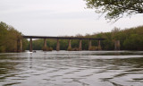 Railroad bridge across the Potomac