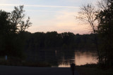 Oct 27 - Early morning at boat ramp at Point of Rocks