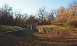 Early morning at Licking Creek Aqueduct