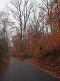 Road to lockhouse