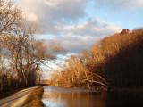 Nov 24th - As the sun rises near Blockhouse Cliffs