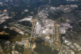 Over BWI airport