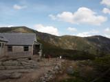 Franconia ridge from the Greenleaf hut