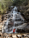 One of the waterfalls on Falling Waters trail
