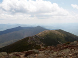 Looking back at Little Haystack from Mt Lincoln
