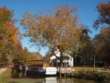 The Charles F Mercer on the canal
